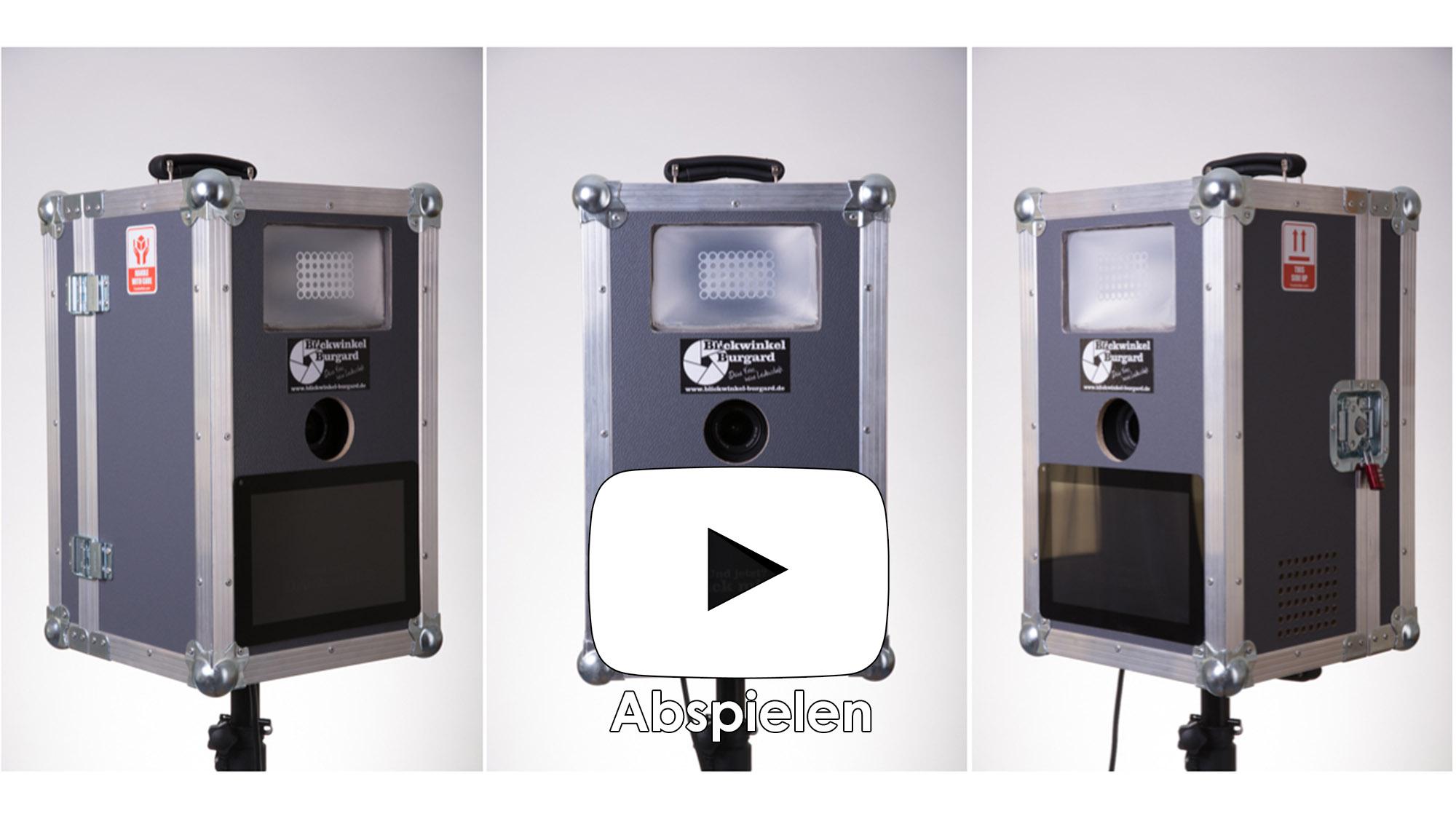 blickbox photobooth fotobox blickwinkel burgard. Black Bedroom Furniture Sets. Home Design Ideas